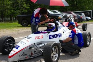 L'équipe énergie dodge stch rds enfin de retour en piste